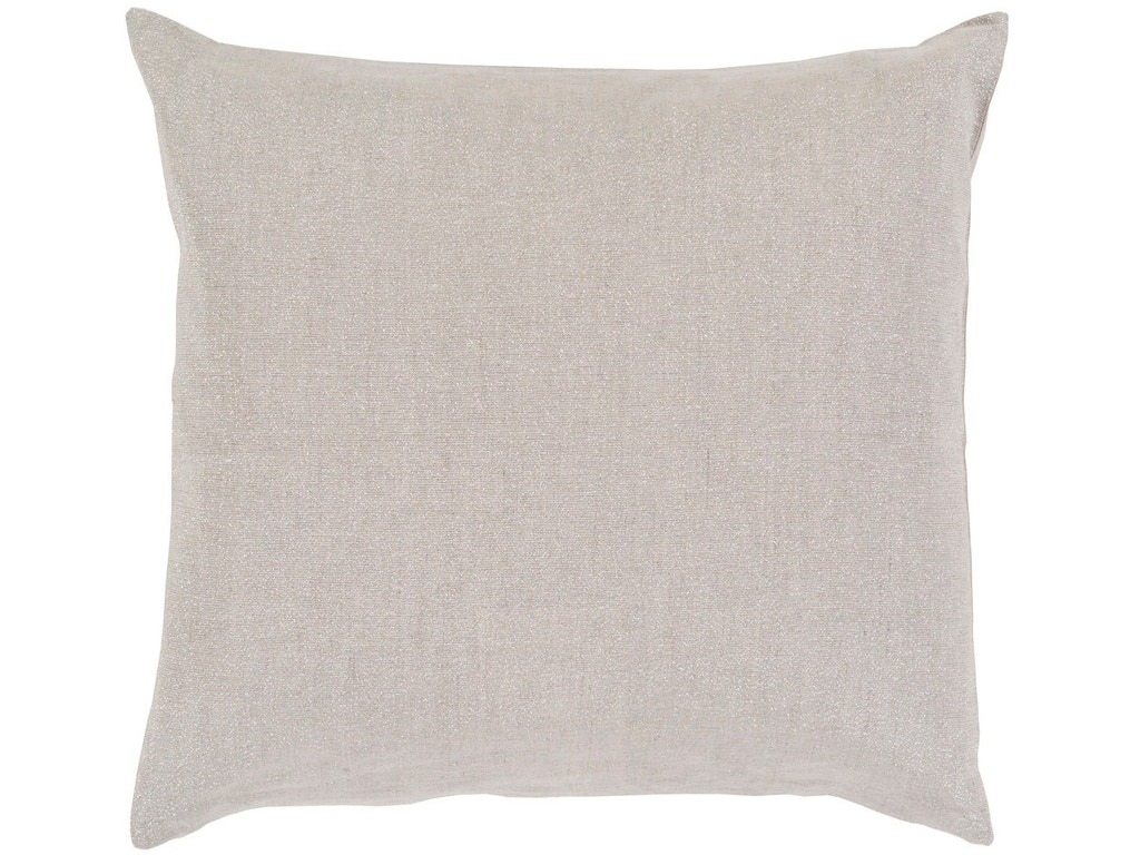 Surya Accessories Audrey 18 x 18 x 4 Throw Pillow AU001-1818D - Zing Casual Living - Naples and ...