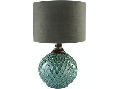 Surya Blakely 22.5 x 14 x 14 Table Lamp BLA551-TBL