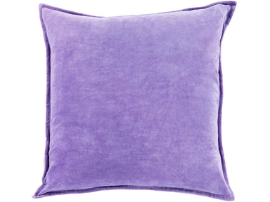 Surya Cotton Velvet 13 x 19 x 4 Lumbar Pillow CV018-1320D