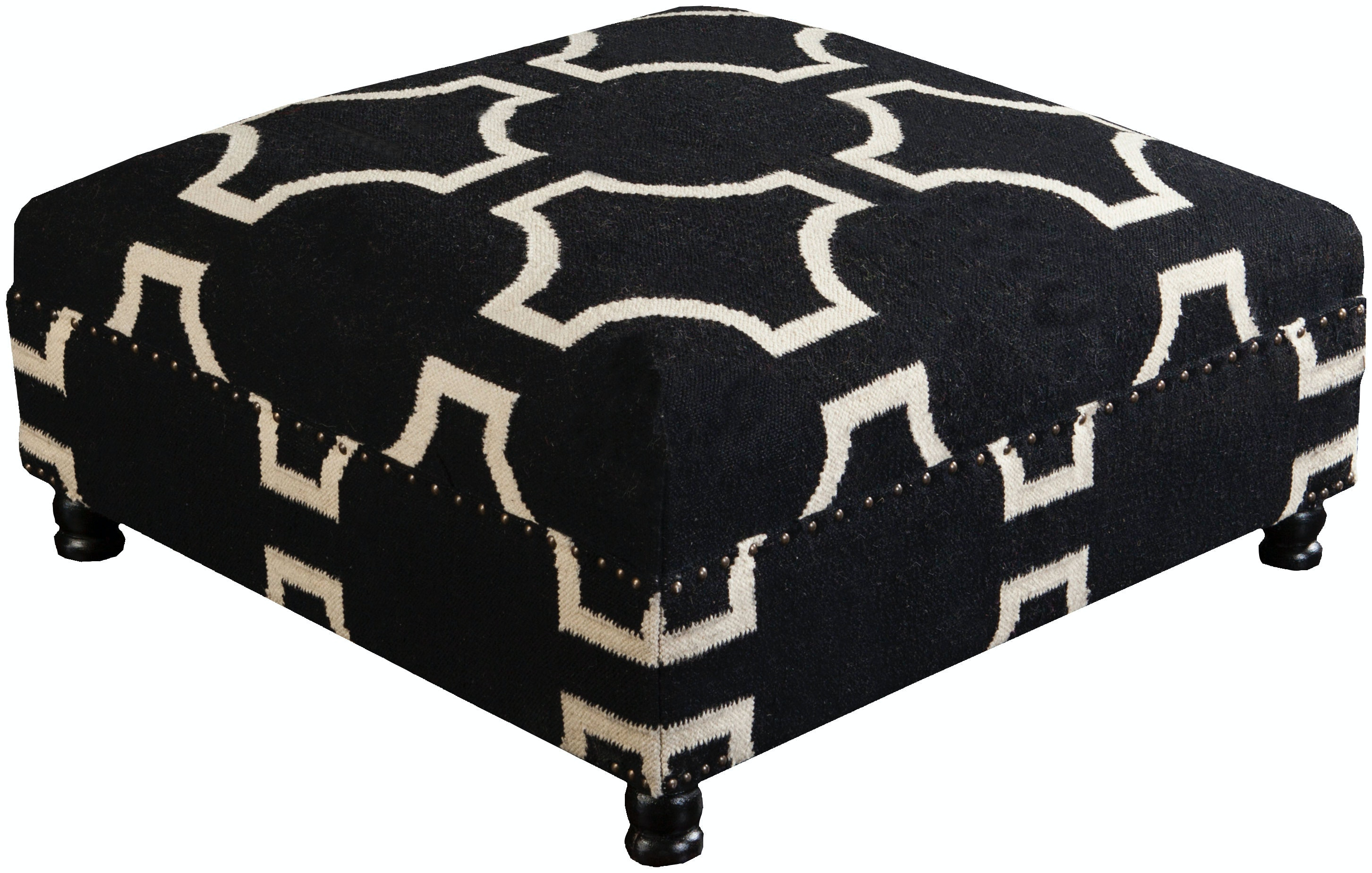 Surya Furniture 32 X 32 X 16 Ottoman FL1003 323216