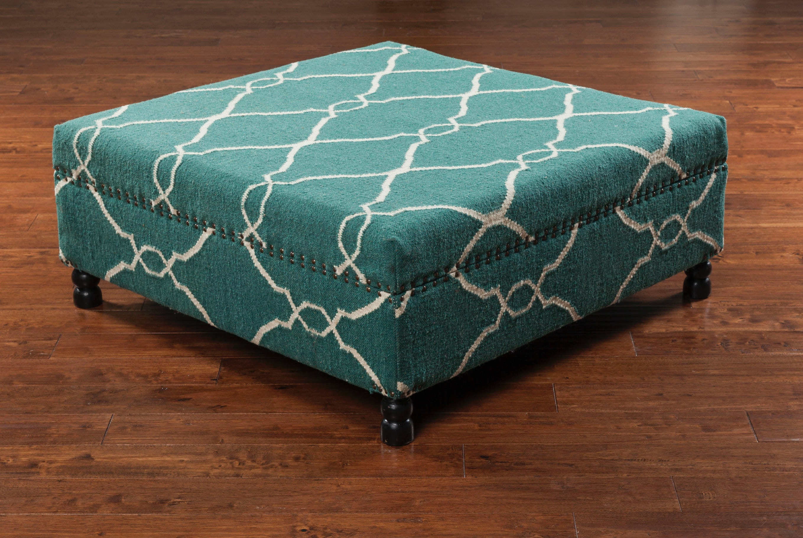 Surya Furniture 40 X 40 X 16 Ottoman FL1008 404016 From Walter E. Smithe