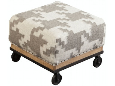 Surya Surya Furniture 16.8 x 16.8 x 11.6 Foot Stool FL1166-424229