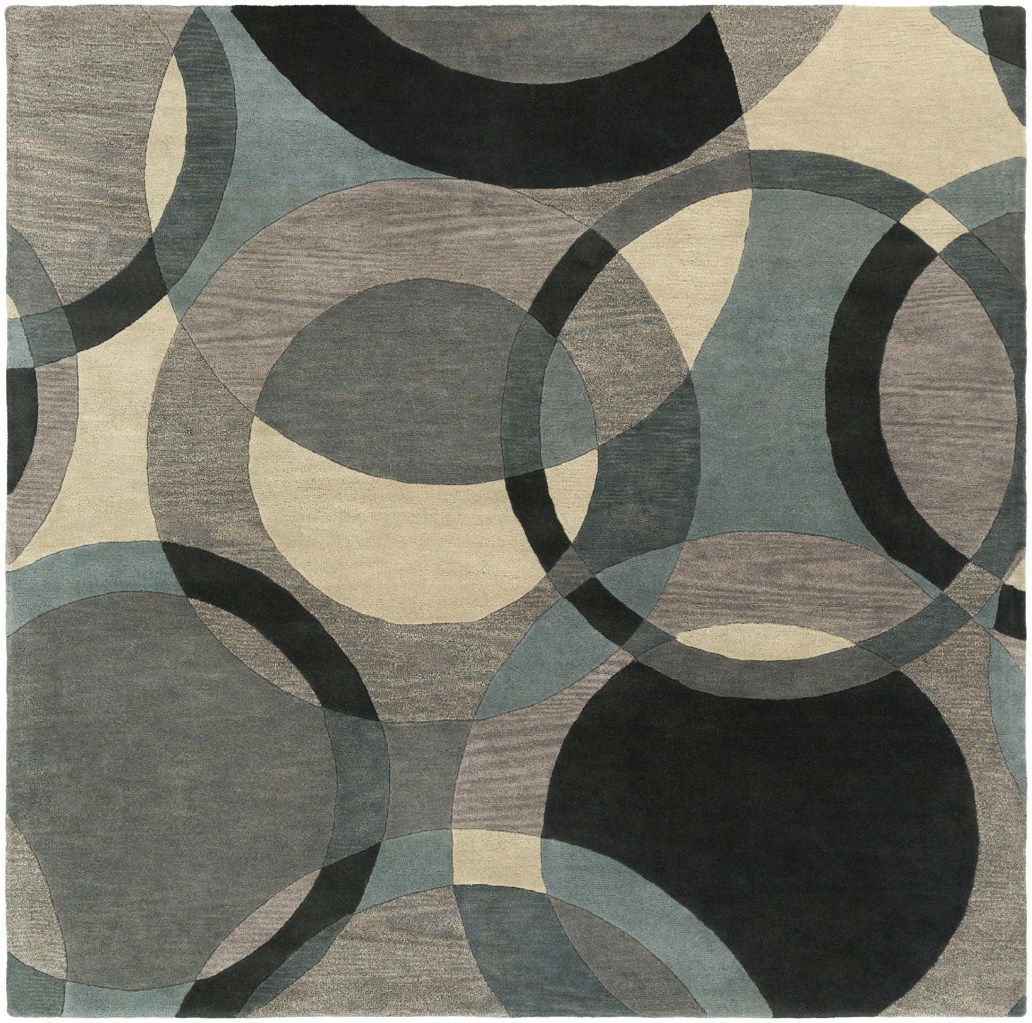 Surya Floor Coverings Forum 8 Square Area Rug Fm7193 8sq Matter