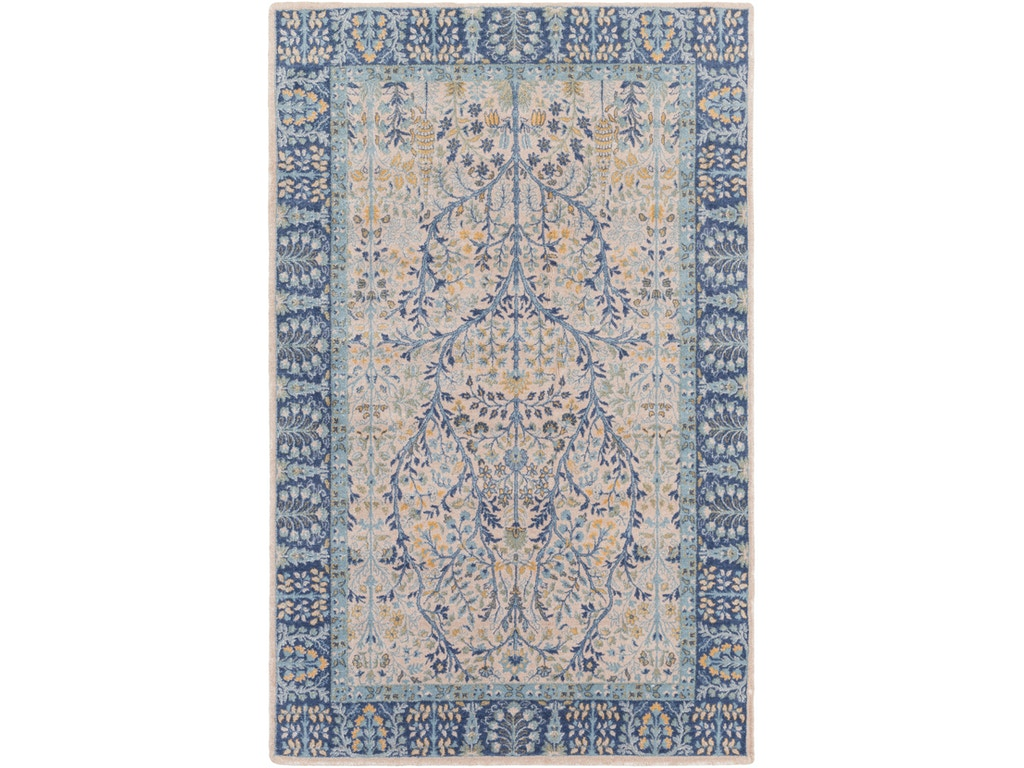 Surya Floor Coverings Kansai Area Rug Kns1010 Strobler Home Furnishings Columbia Sc