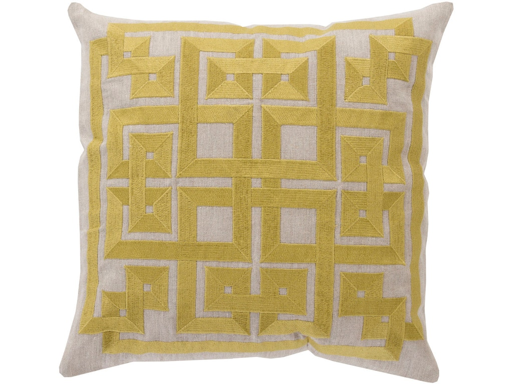 Surya Accessories Decorative Pillows 18 x 18 Pillow LD005-1818D - Whitley Furniture Galleries ...