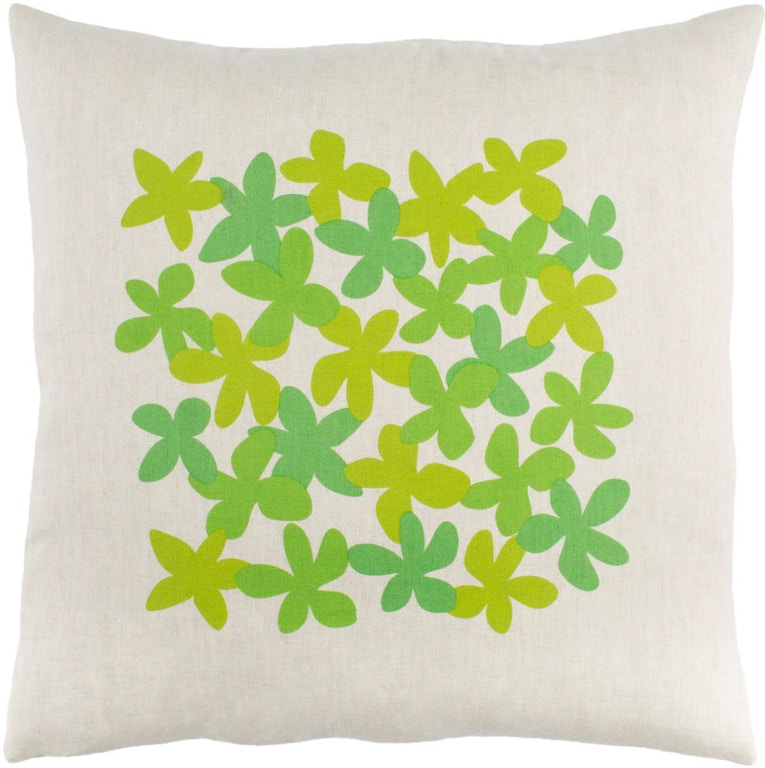 Surya Accessories Little Flower 20 X 4 Throw Pillow Le003 2020p At Gerbers Home Furnishings