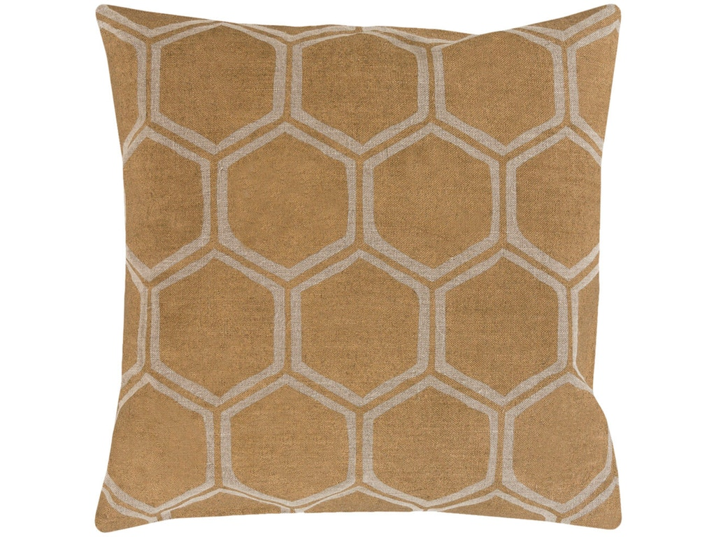 Surya Accessories Decorative Pillows 18 x 18 Pillow MS007-1818D - Zing Casual Living - Naples ...
