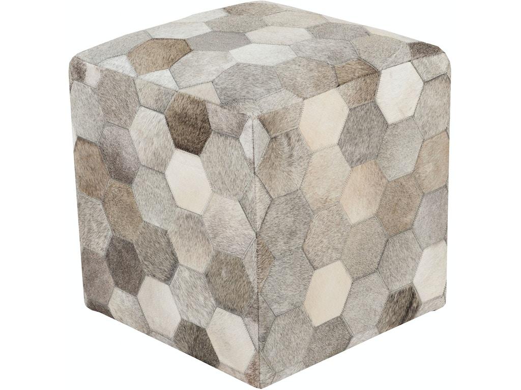 Surya accessories trail 18 x 18 x 18 pouf tlpf 001 for A p furniture trail