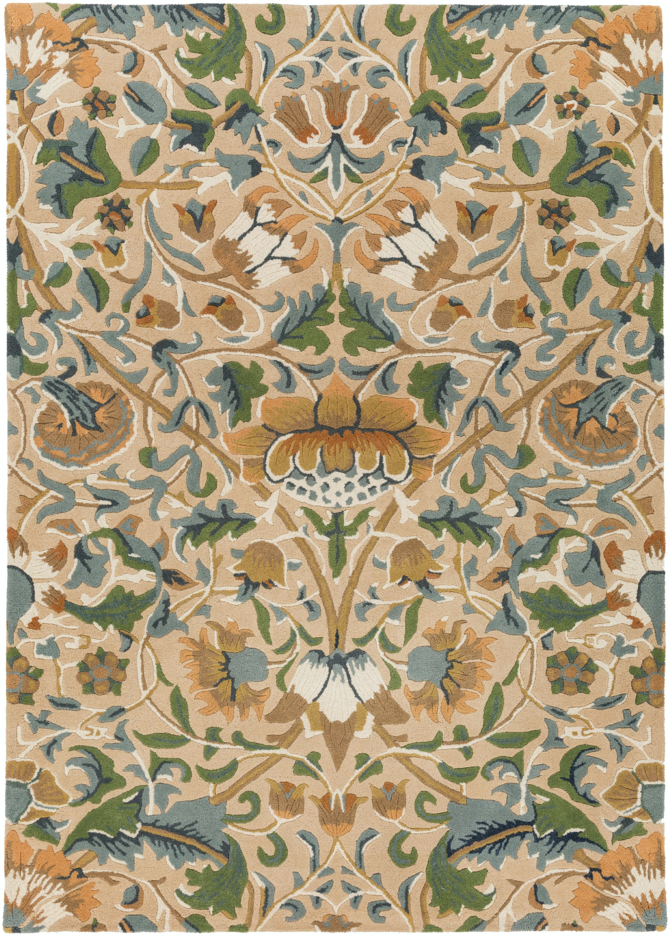Surya William Morris Area Rug WLM3010 From Walter E. Smithe Furniture +  Design