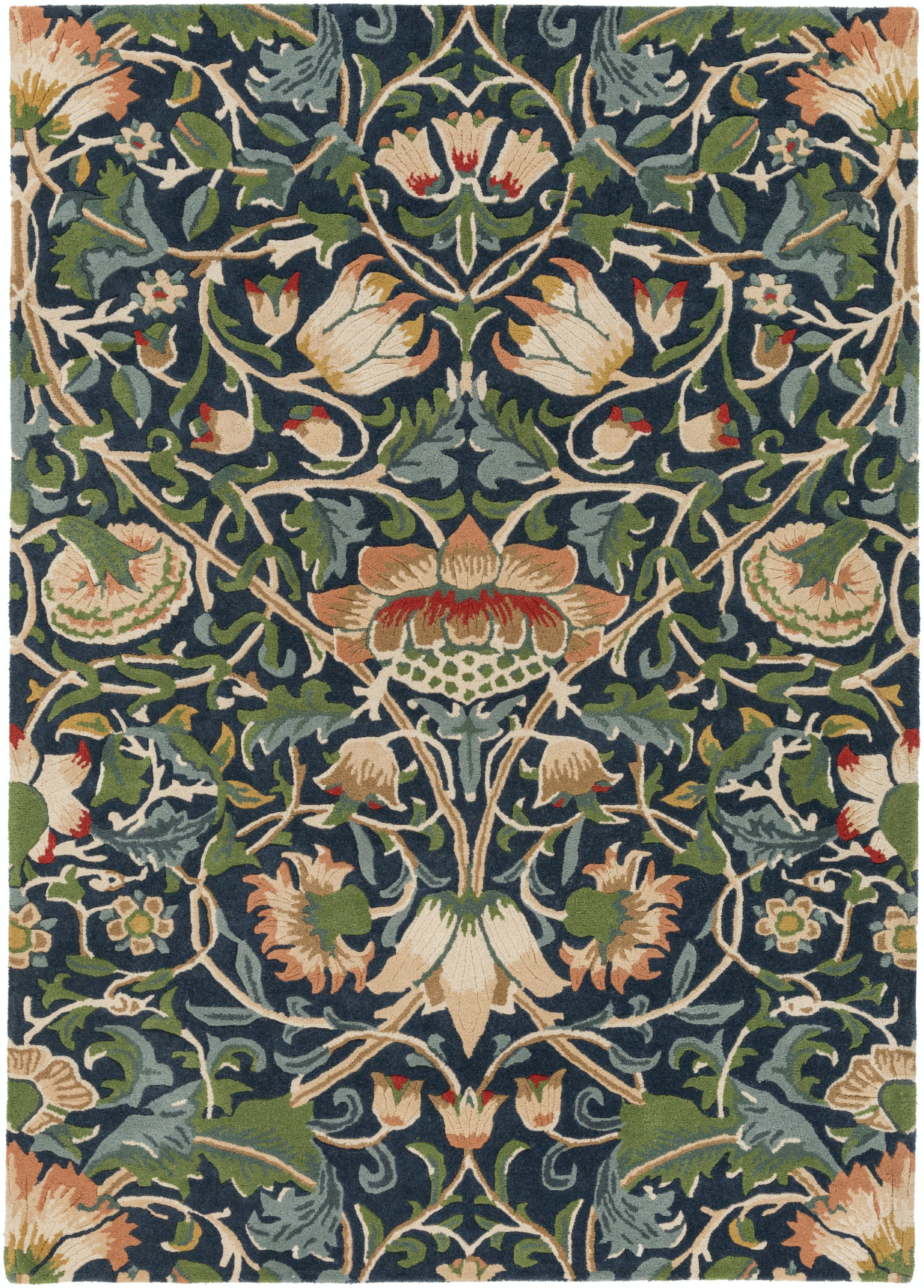 Surya William Morris Area Rug WLM3011 From Walter E. Smithe Furniture +  Design