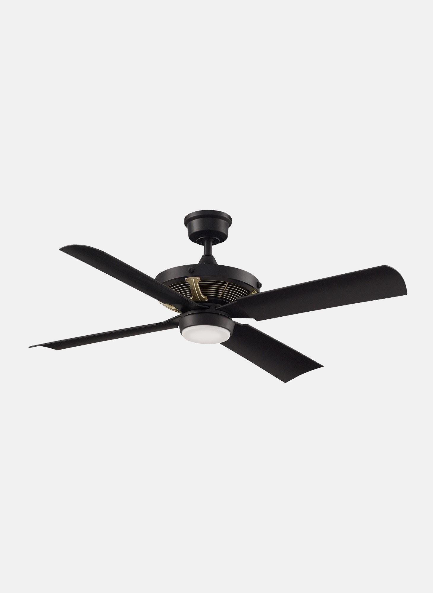 Light Almond Fanimation CW5LA Ceiling Fan Wall Control Fan Only No Light