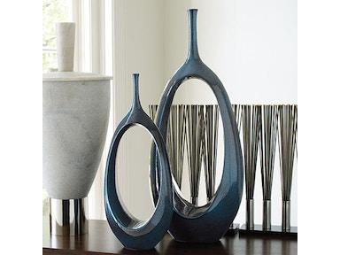 Open Oval Ring Vase Celestial Lg