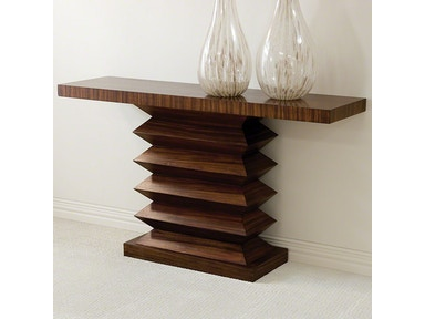 Global Views Zig Zag Console Table 2262