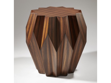 Global Views Living Room Marble Arabesque Side Table 9
