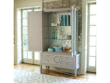 Global Views Collectors Cabinet-Grey/Top Only 2450