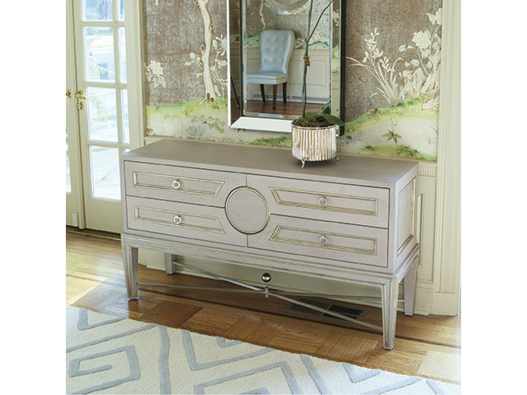 Global Views Living Room Collector S Console Grey 2451