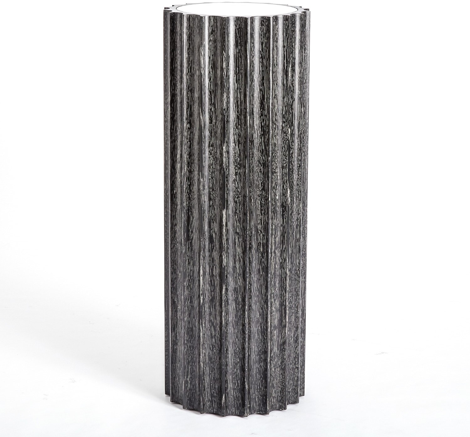 Global Views Accessories Reflective Column Pedestal Black  : 2564 from www.finessehomeliving.com size 1024 x 768 jpeg 36kB