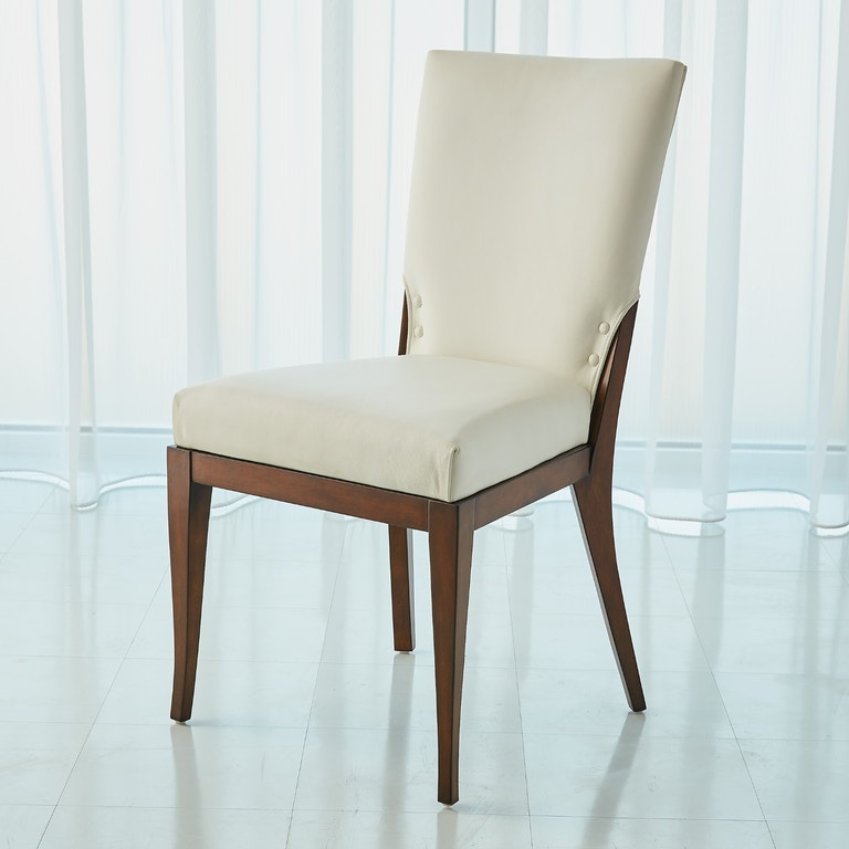 Global Views Warehouse Dallas: Global Views Dining Room Opera Chair-White 2636