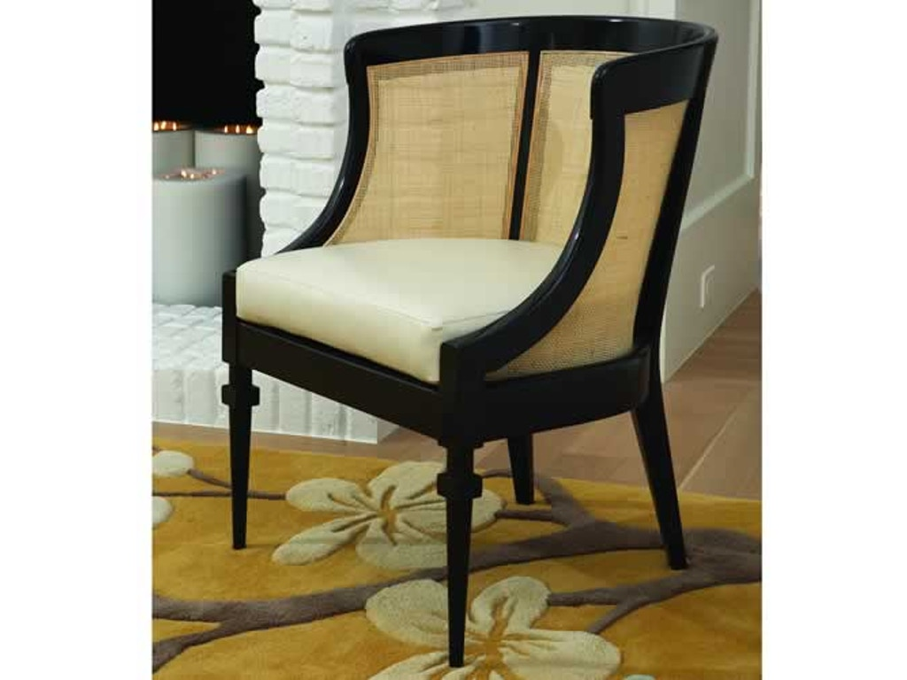 Global views living room cane chair black for Chair design elements