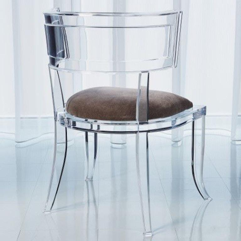 Global Views Acrylic Chair: Global Views 3.31329