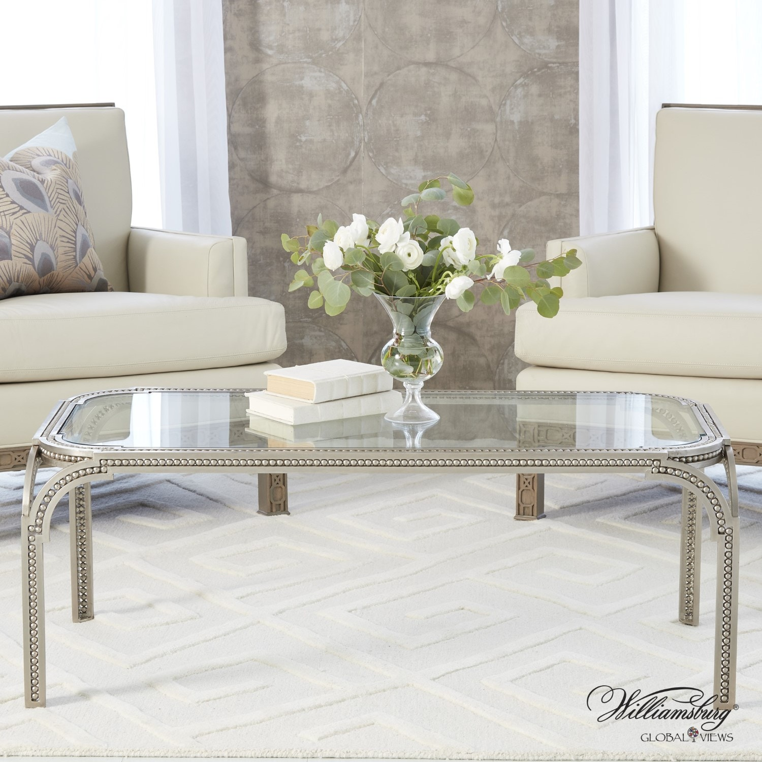Global Views Living Room Forged Pearl Cocktail Table 4.90123 At Druryu0027s Inc.
