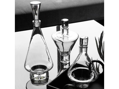 Global Views Tall Fat Bottom Decanter-Clear 6.60076