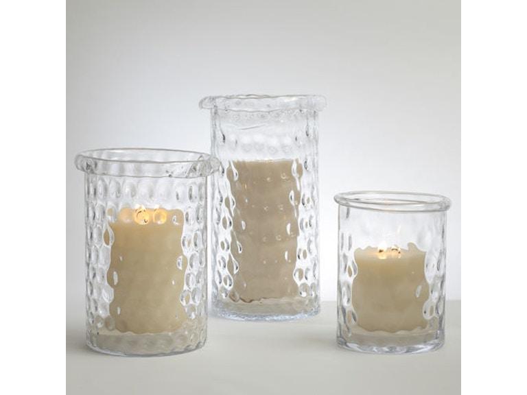 Global Views Accessories Honeycomb Hurricane Vase Lg 660155