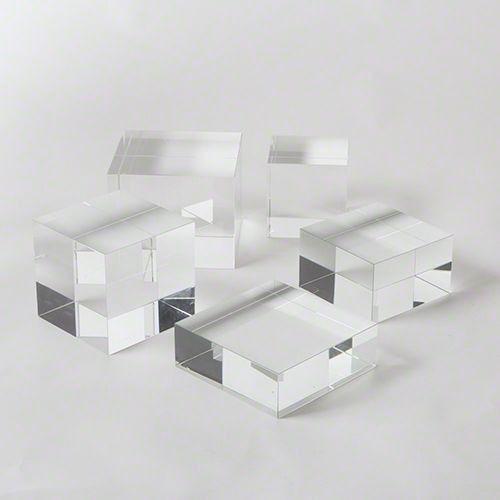 Global Views Accessories Crystal Cube Riser-Small 8.81739 - Art ...
