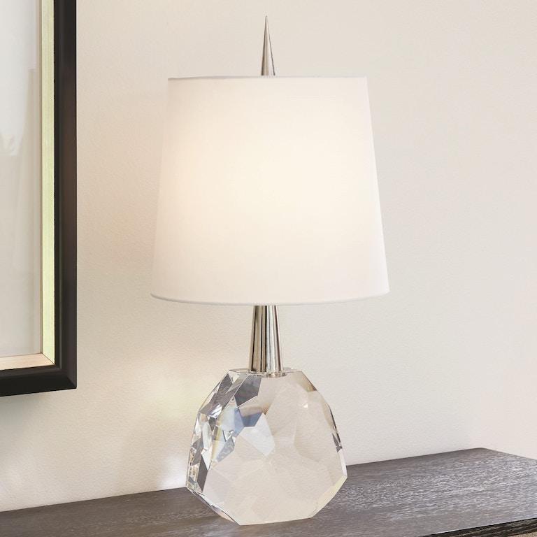 Global Views Lamps And Lighting Gem Lamp Nickel 8 82417
