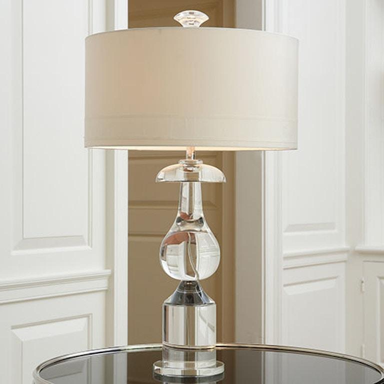 Global Views Lamps And Lighting Clic Bulb Crystal Lamp