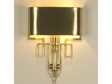 Global Views 9 90651 Lamps And Lighting Torch Sconce With