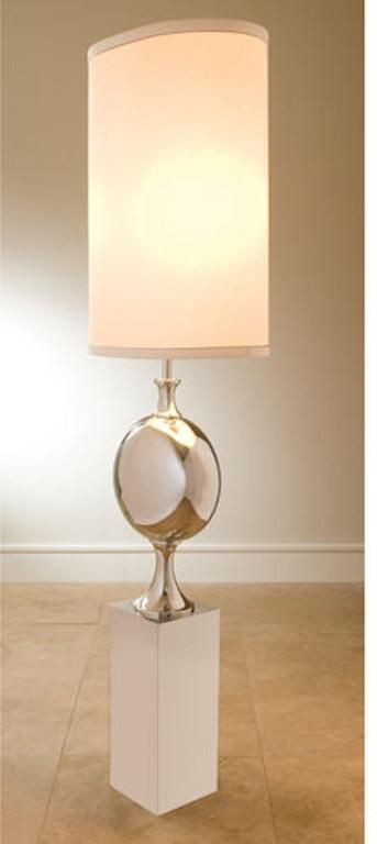 Global Views 9 91101 Pill Lamp Nickel Interiors Home
