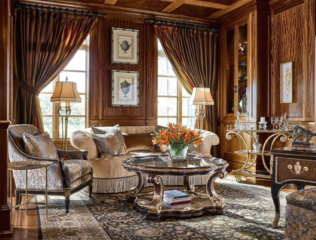 Marge Carson Living Room Amara Sofa Amr43 Inspirations