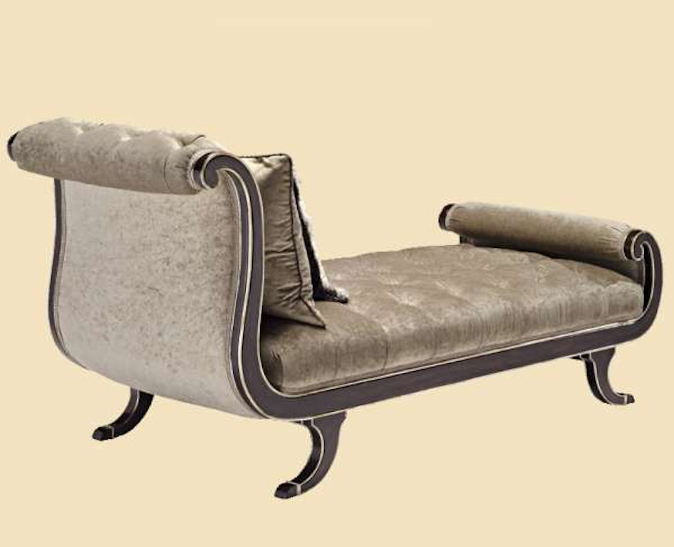 Marge Carson Living Room Aphrodite Chaise Aph44 Stowers