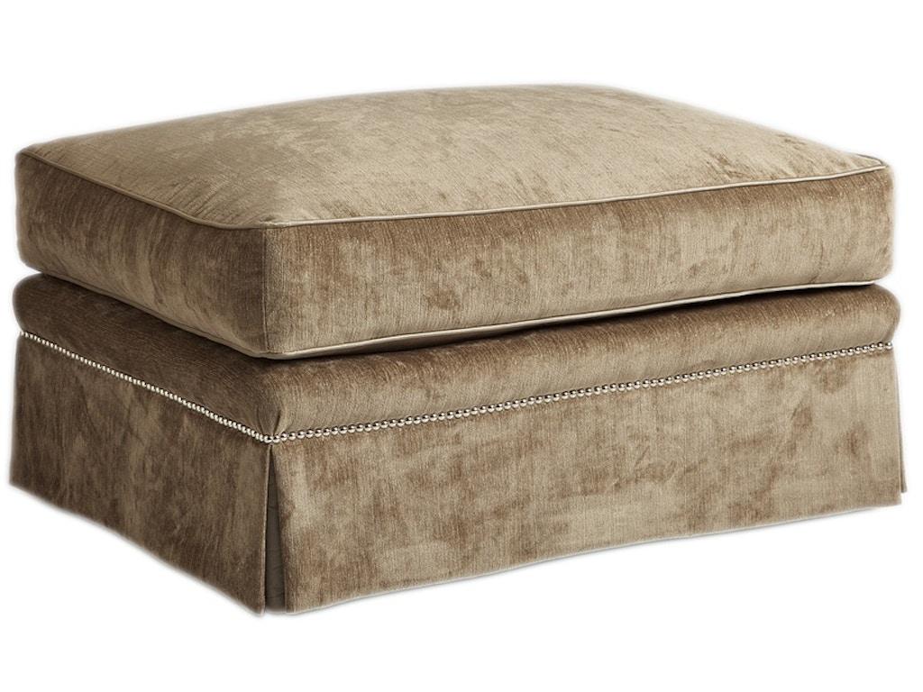 Marge Carson Living Room Ashton Ottoman Ash48 Saxon Clark Furniture Patio Design Altamonte