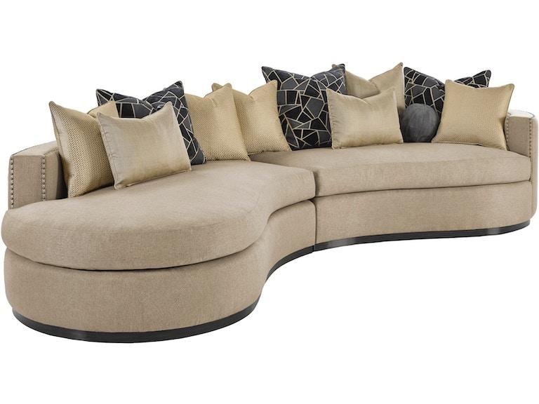 Marge Carson Living Room Aurora 2 Piece Sofa Aur43 1s Elite Interiors Myrtle Beach Sc