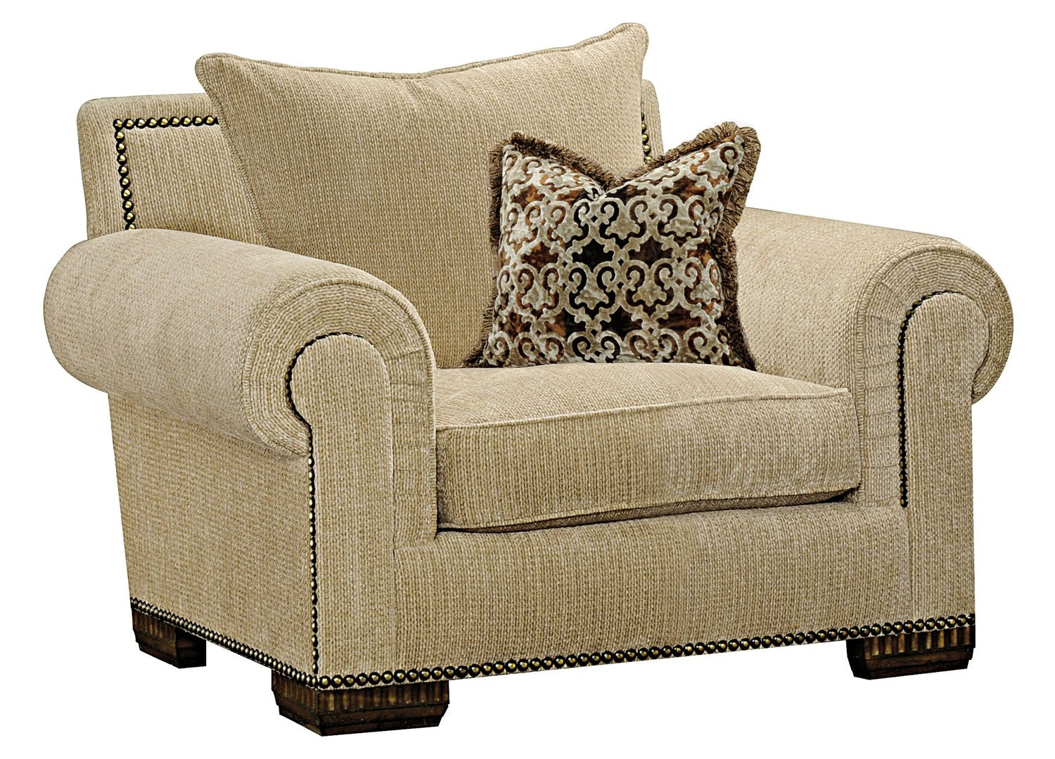 Marge Carson Living Room Bentley Lounge Chair By41l Von