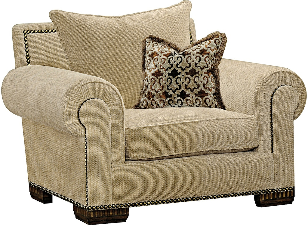 Marge Carson Living Room Bentley Lounge Chair By41l