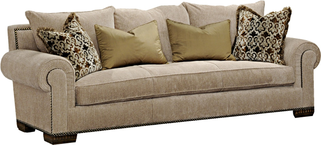 Marge Carson Living Room Bentley Sofa By43l Gorman S
