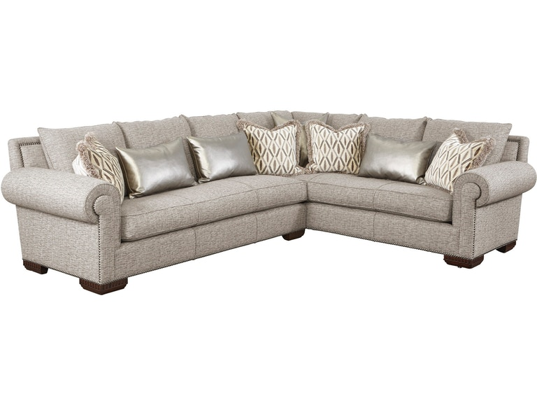 Marge Carson Living Room Bentley Sectional BYSECS - Stowers ...