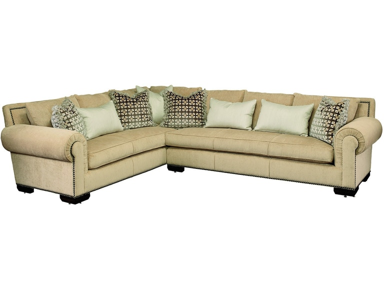 Marge Carson Living Room Bentley Sectional Bysecl Birmingham
