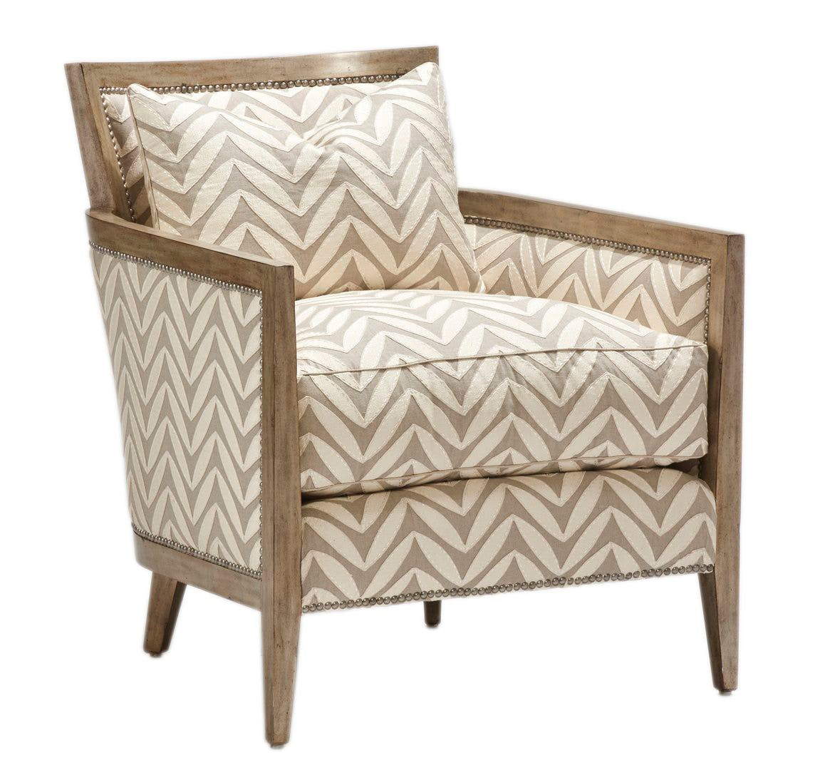 Marge Carson Calistoga Chair CLS41 From Walter E. Smithe Furniture + Design