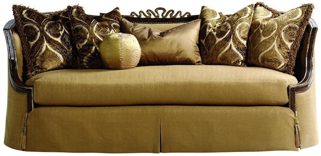 Marge Carson Living Room Chantelle Sofa