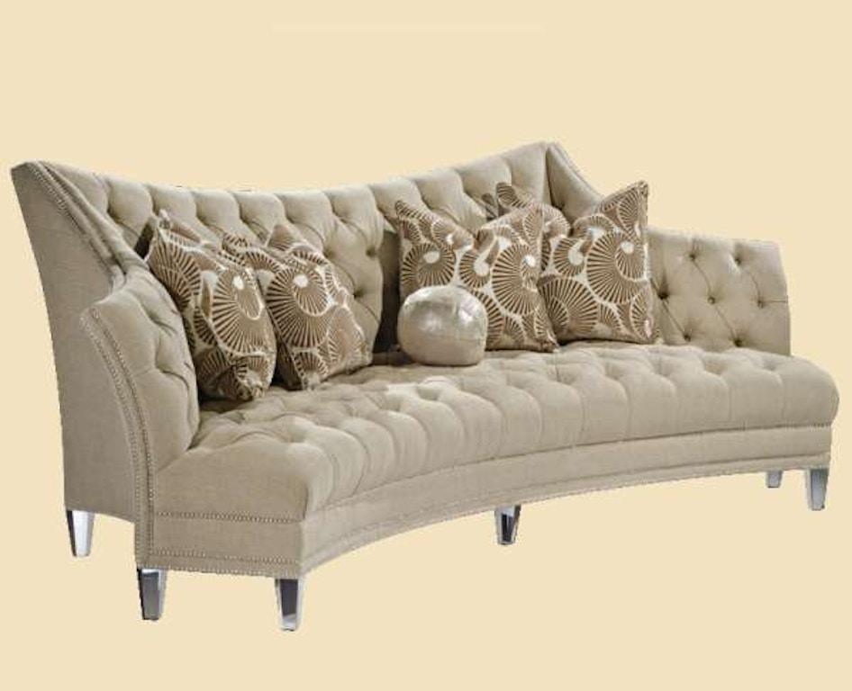 Marge Carson Living Room Deville Sofa