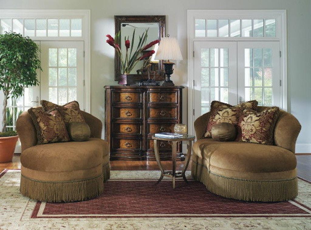 Marge Carson Living Room Danielli Chaise Dn44 Stowers