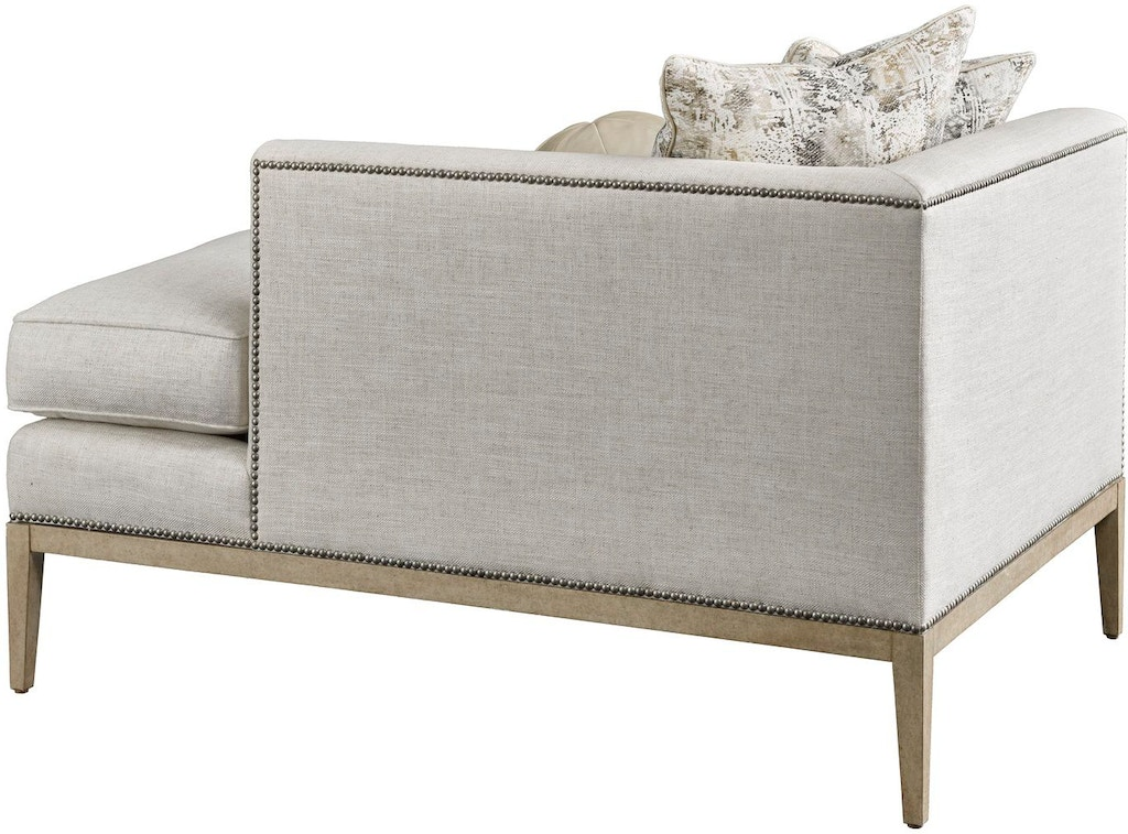 Marge Carson Living Room Libra Chaise Lib44 Toms Price