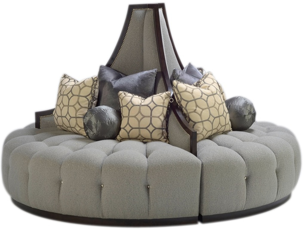 Living Room Mirage Round Sofa Mge58