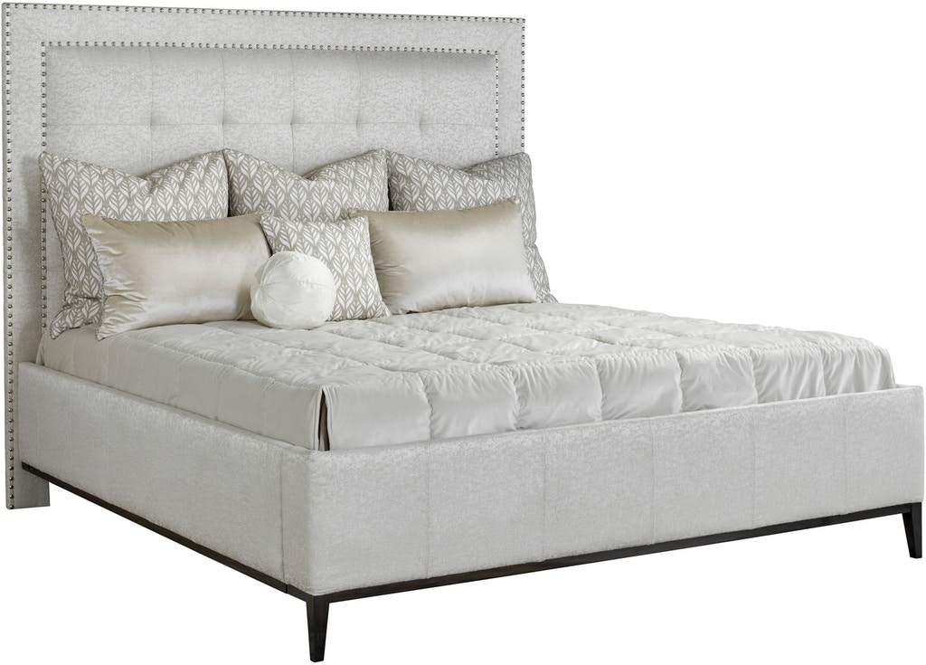Marge Carson Bedroom Palo Alto Fully Upholstered Bed Pal11 4