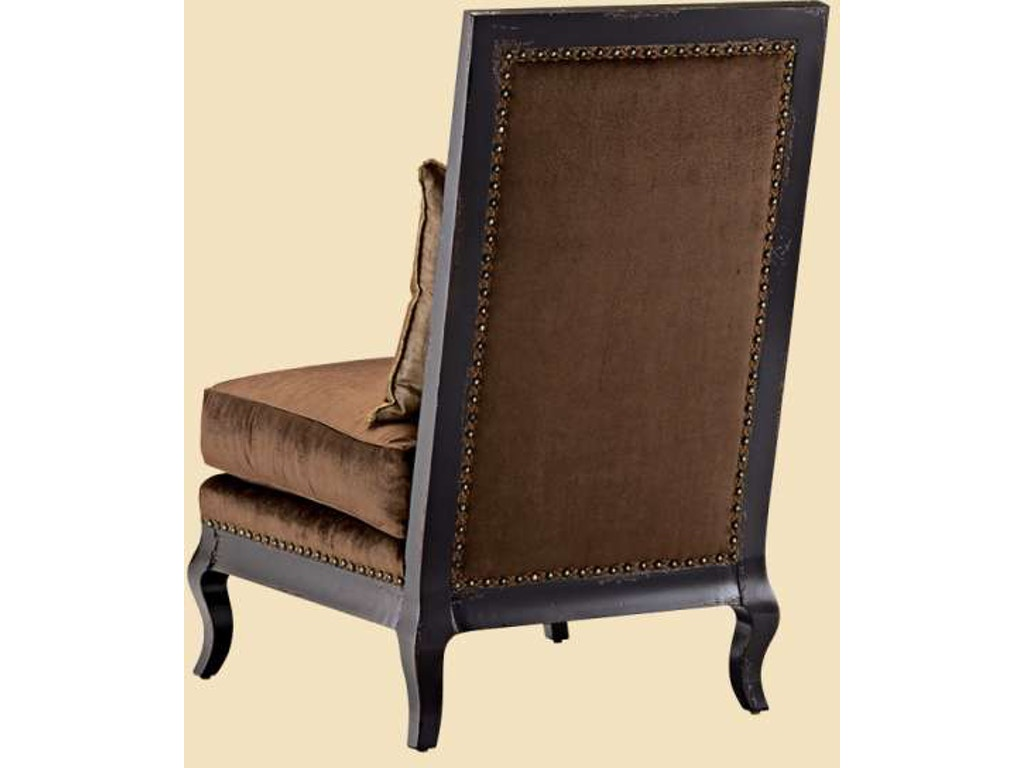 Marge carson living room persephone lounge chair prs49 for Carson chaise lounge