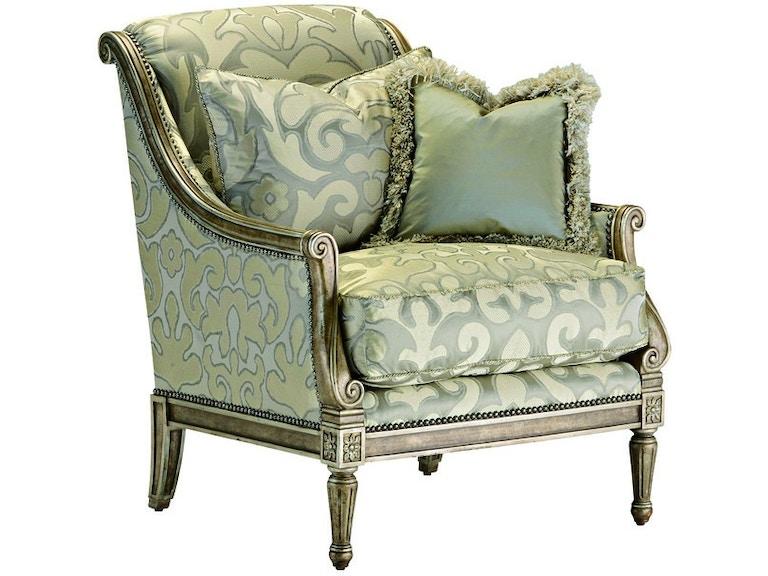 Marge Carson Living Room Portofino Chair Prt41 Saxon